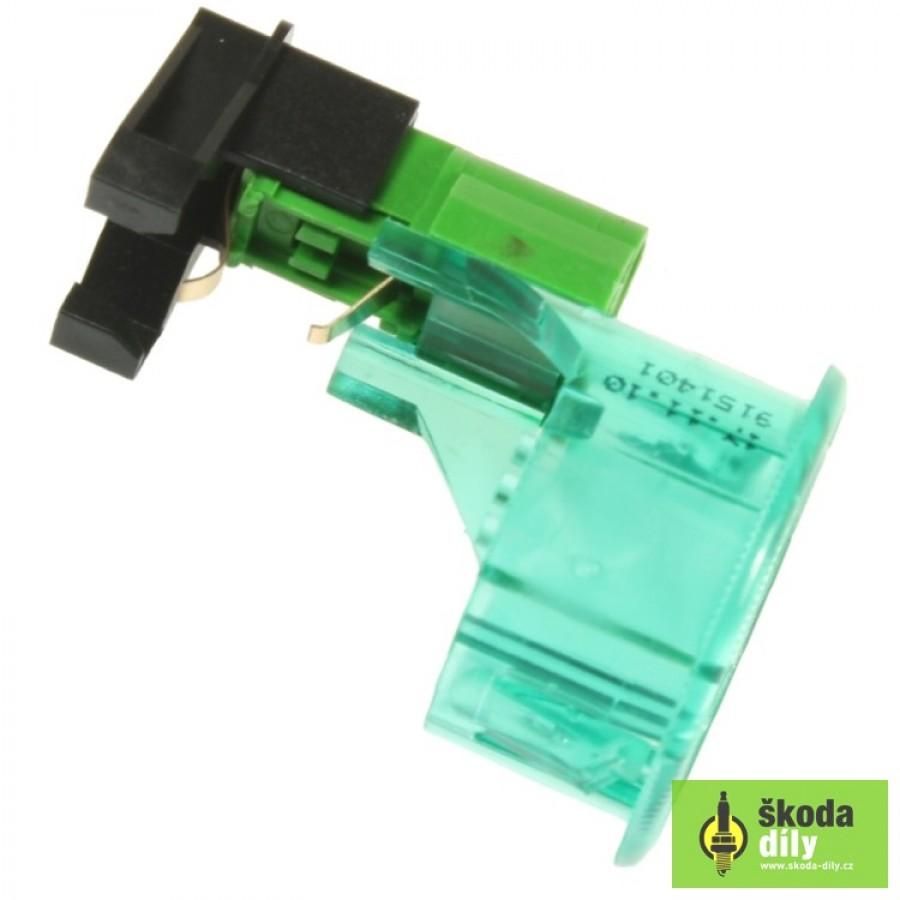 Octavia 1 - oprava podsvícení zapalovače/zásuvky